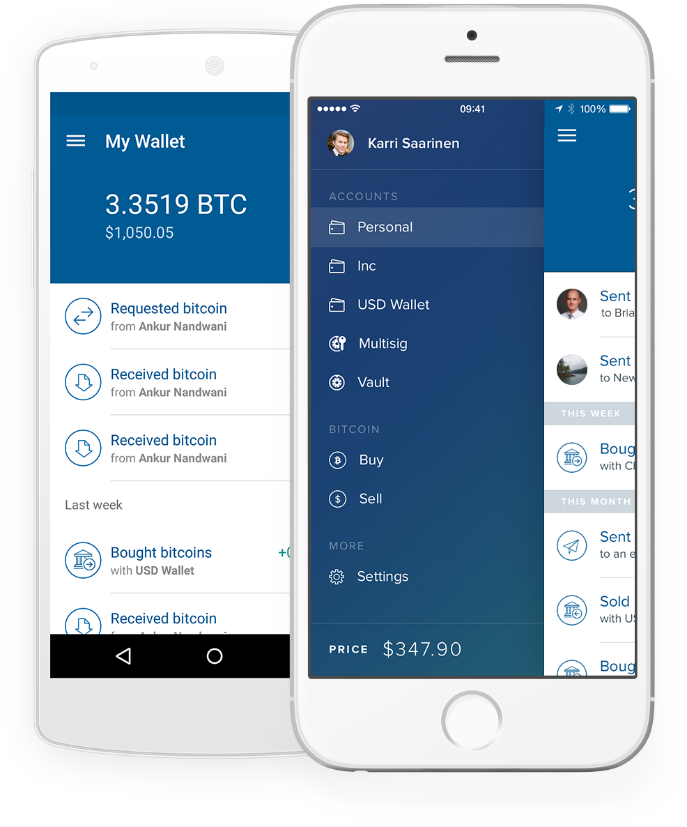Bitcoin mobile wallet for android and ios coinbase mobile app ccuart Images