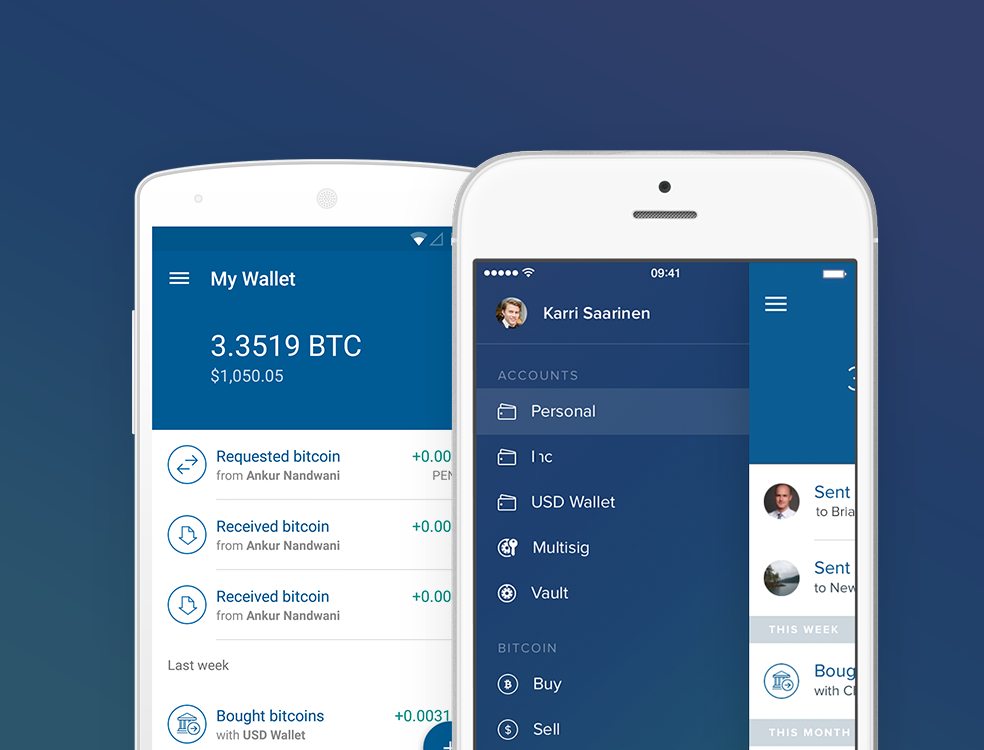 Bitcoin mobile wallet for android and ios coinbase ccuart Images